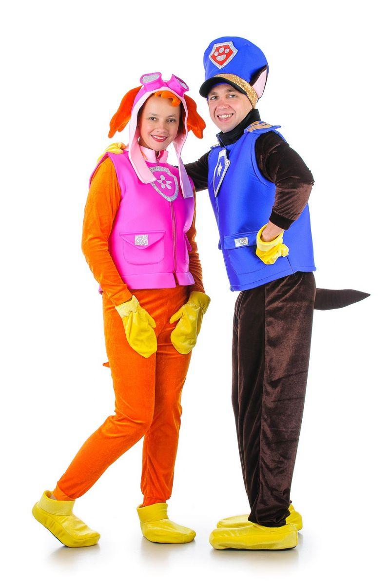 Масочка - Щенячий патруль «Чейз» карнавальный костюм для взрослых / фото №1294