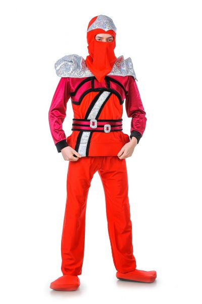 «Ниндзяго красный» карнавальный костюм для взрослых