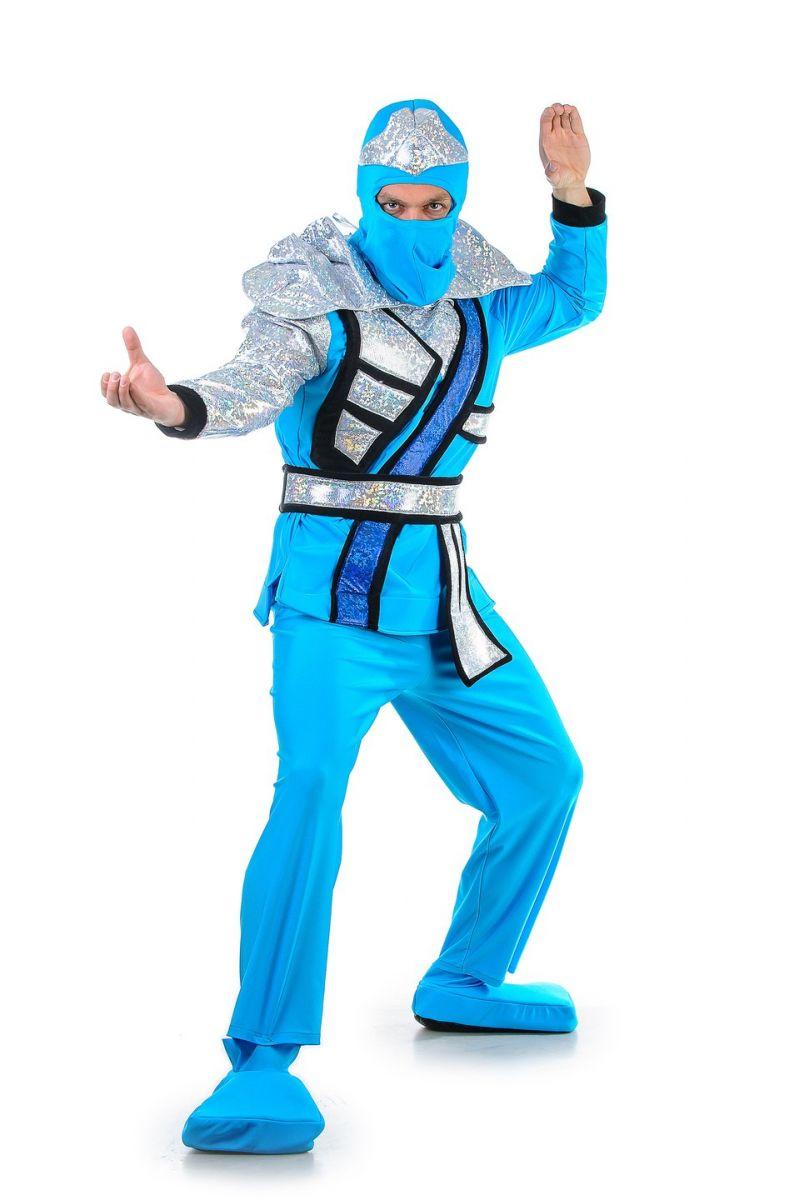 «Ниндзяго синий» карнавальный костюм для взрослых