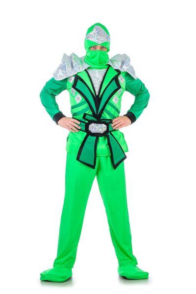 «Ниндзяго зеленый» карнавальный костюм для взрослых