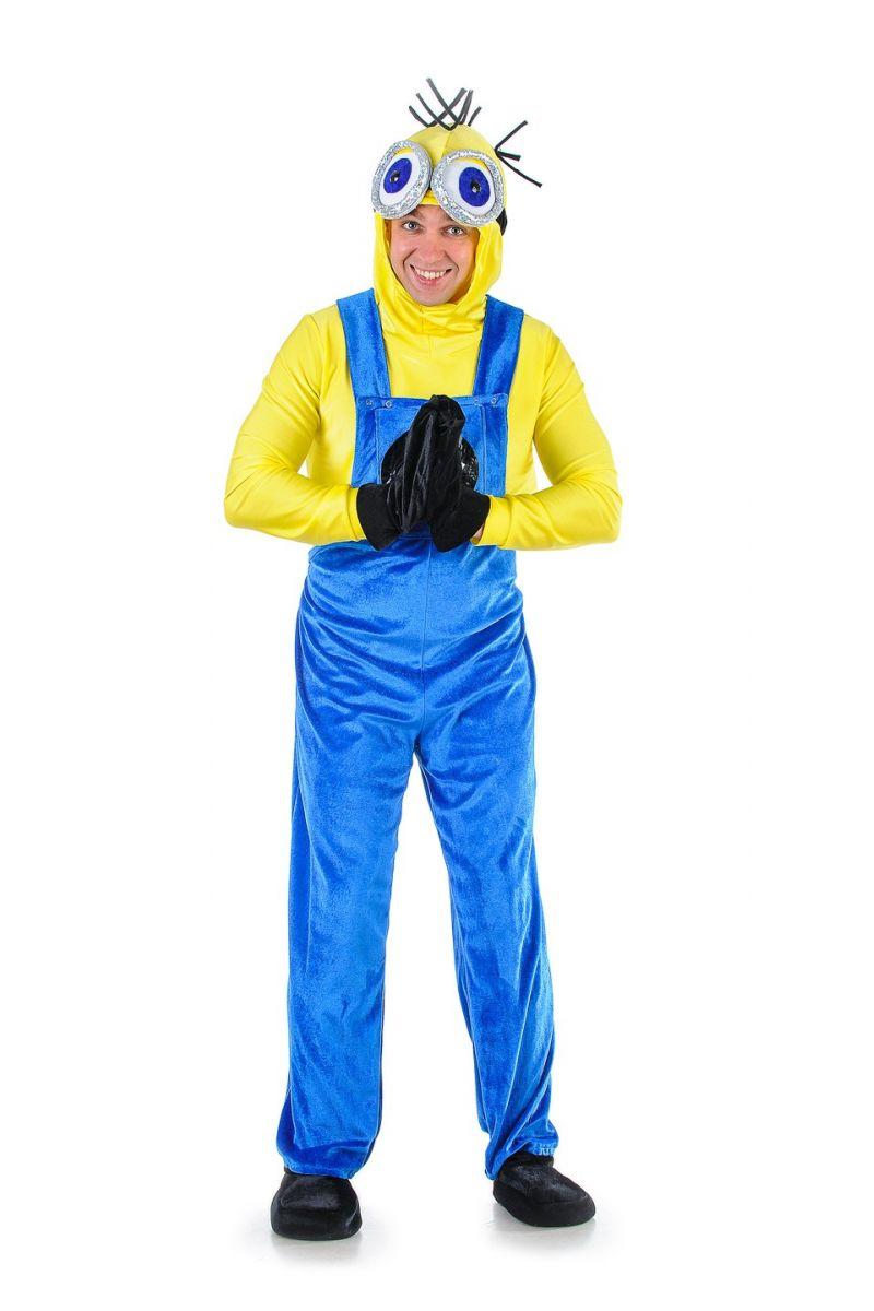 Масочка - «Миньон» карнавальный костюм для взрослых / фото №1303