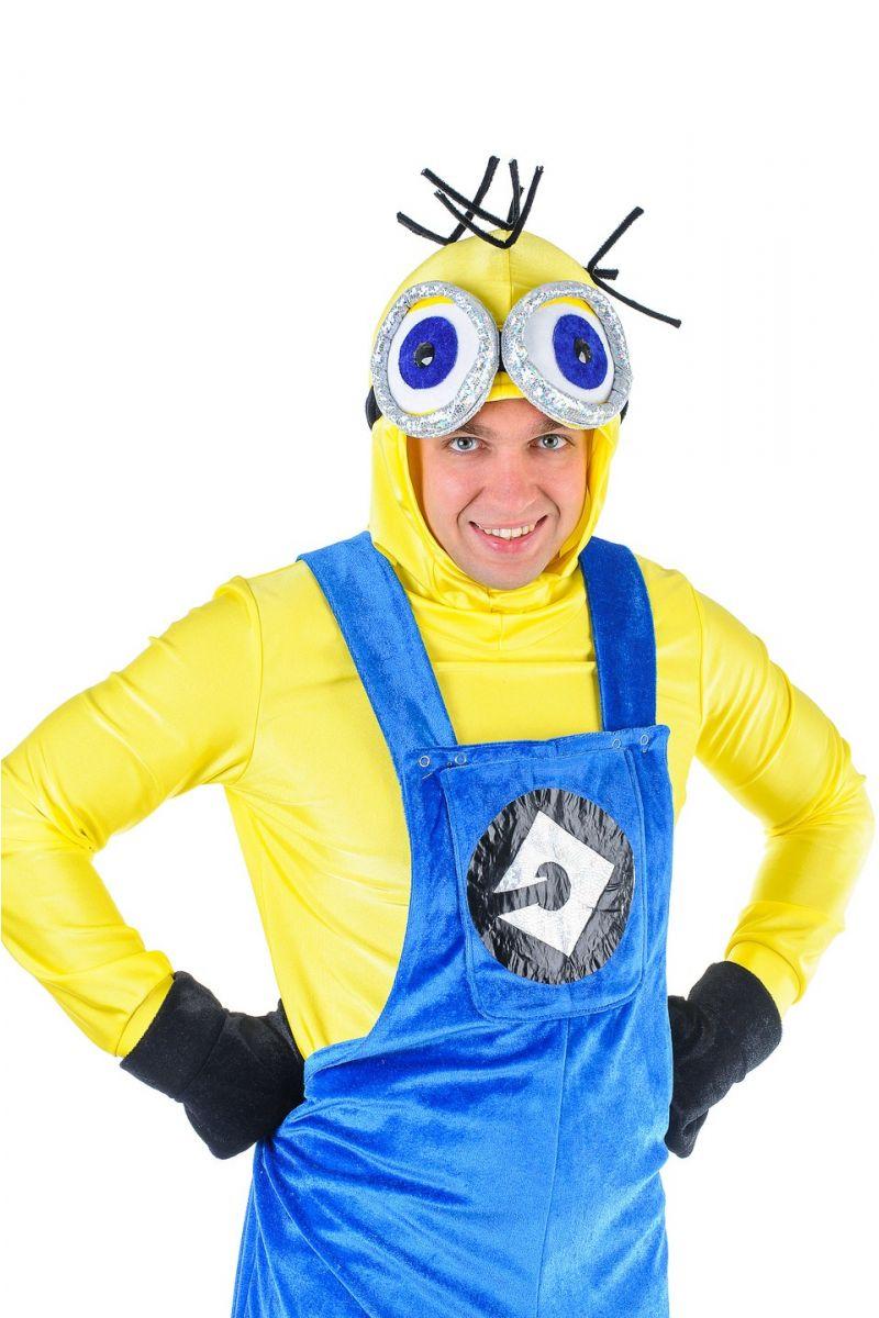 Масочка - «Миньон» карнавальный костюм для взрослых / фото №1305