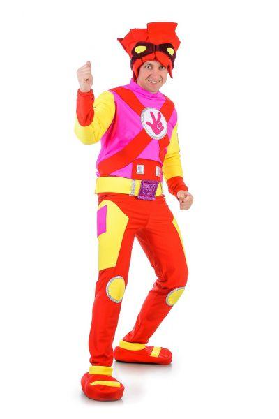 «Фиксик Фаер» карнавальный костюм для взрослых