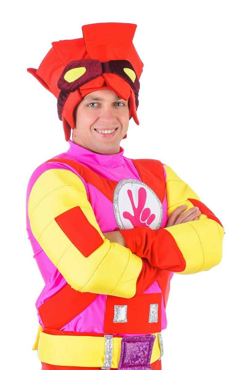 Масочка - «Фиксик Фаер» карнавальный костюм для взрослых / фото №1307