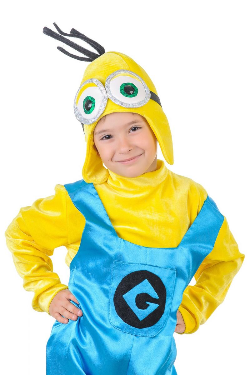 Масочка - Миньон «Крошка» карнавальный костюм для мальчика / фото №1313