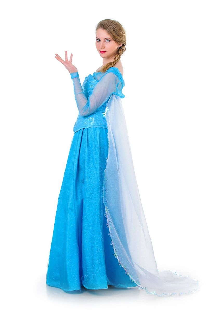 Эльза «Холодное сердце». Карнавальный костюм для взрослых.