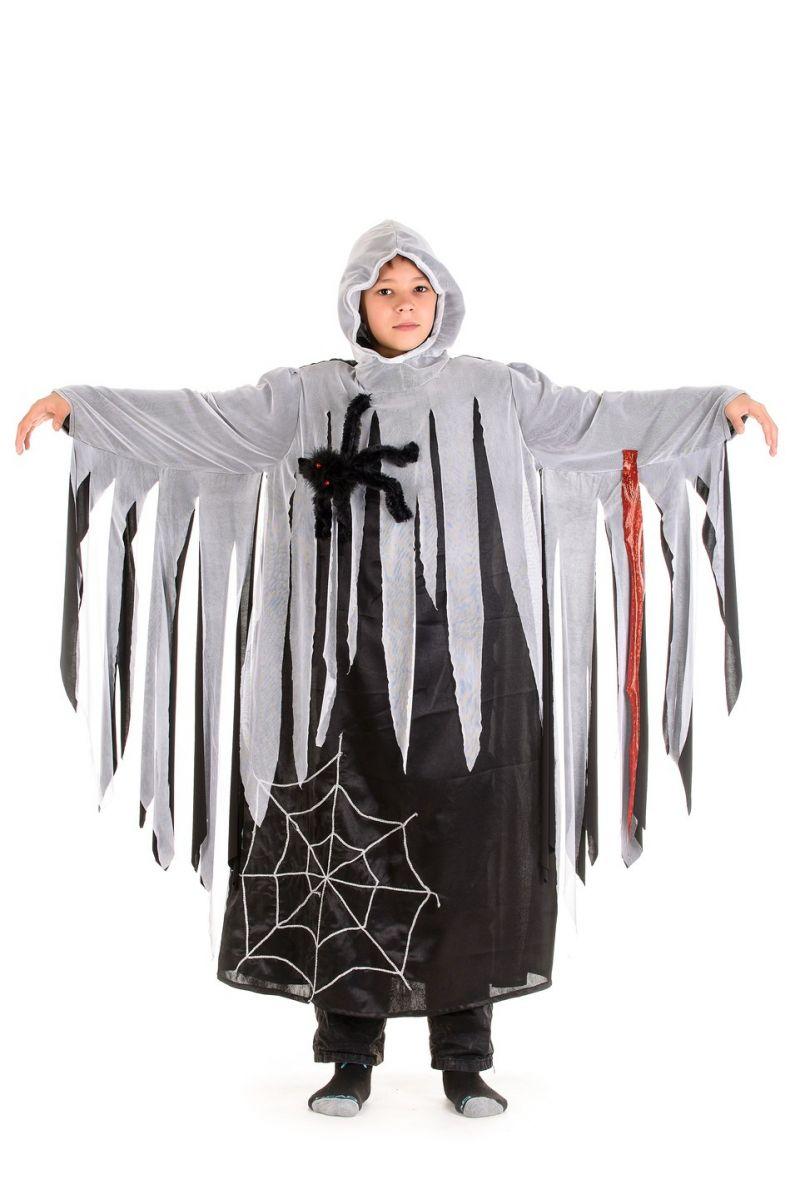 Масочка - «Призрак» карнавальный костюм для мальчика / фото №1323
