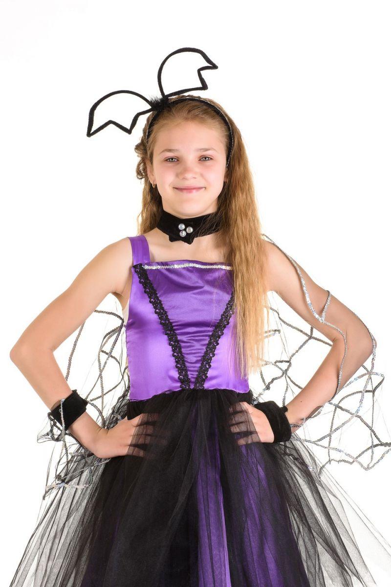 Масочка - «Летучая мышка» карнавальный костюм для девочки / фото №1326