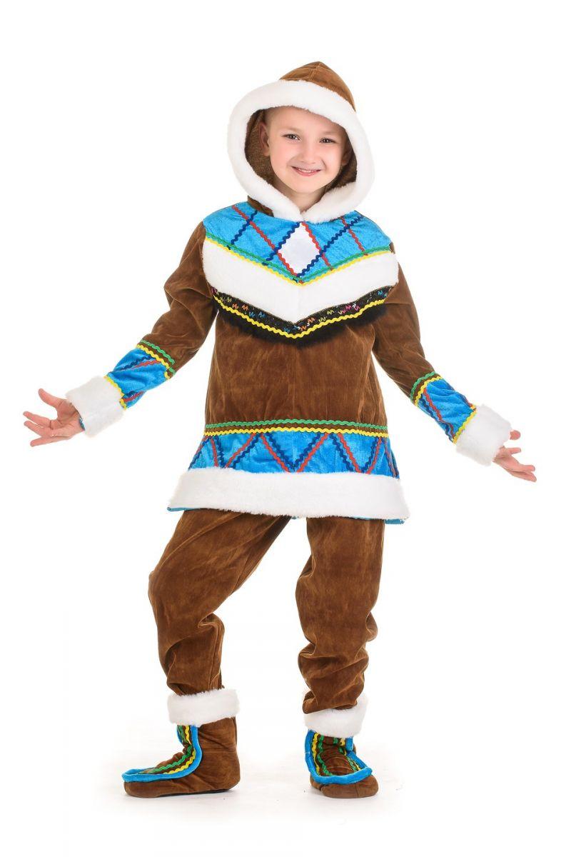 «Эскимос» национальный костюм для мальчика