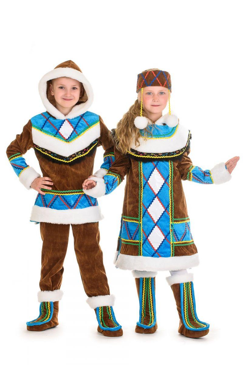 Масочка - «Эскимоска» национальны костюм для девочки / фото №1330