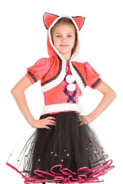Кошка «Мяу» карнавальный костюм для девочки