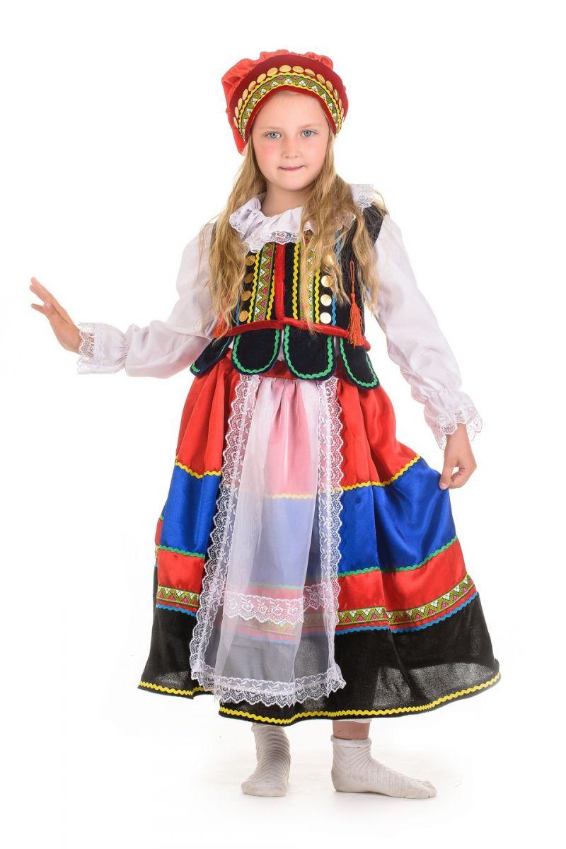 «Полька» национальный костюм для девочки