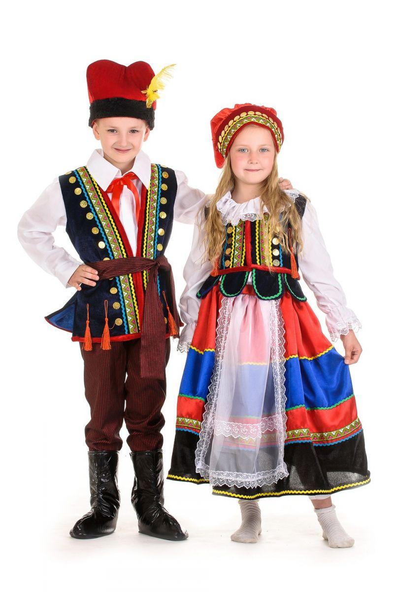 Масочка - «Полька» национальный костюм для девочки / фото №1335