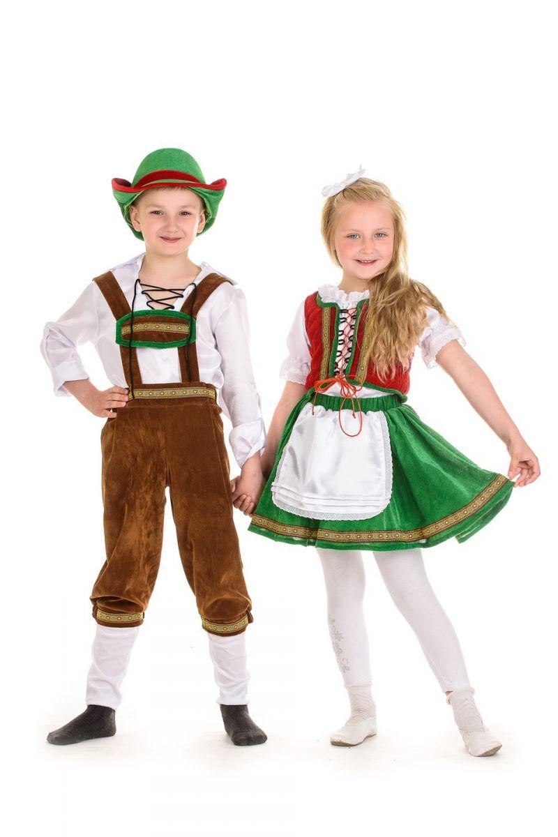 Масочка - «Немец»национальный костюм для мальчика / фото №1341