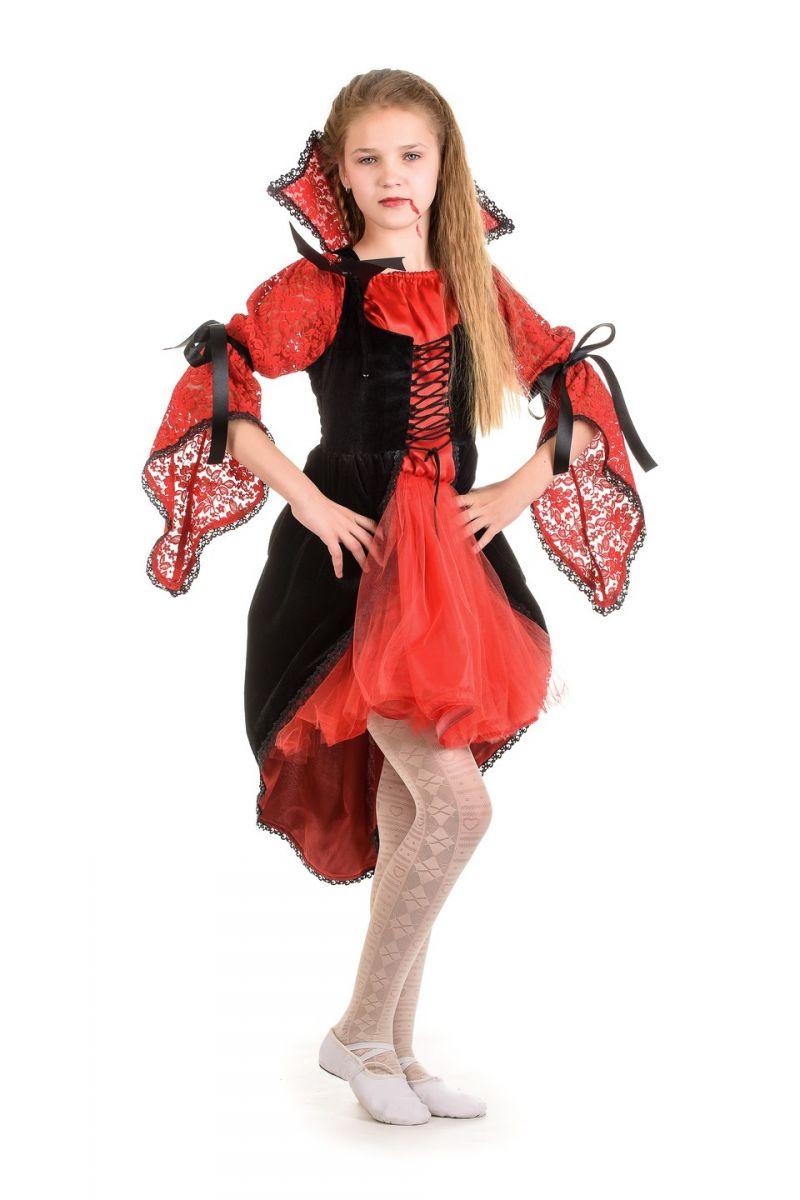 «Вампиресса» карнавальный костюм для девочки