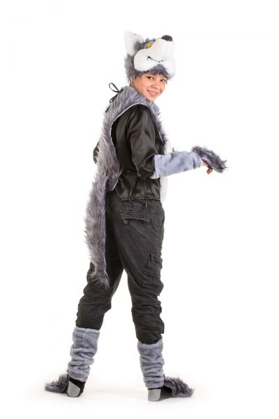 «Серый волк» карнавальный костюм для мальчика