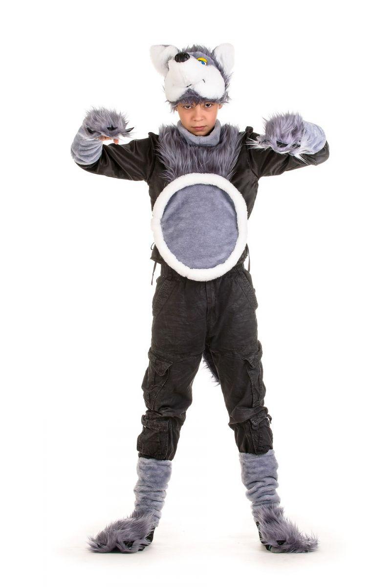 Масочка - «Серый волк» карнавальный костюм для мальчика / фото №1346