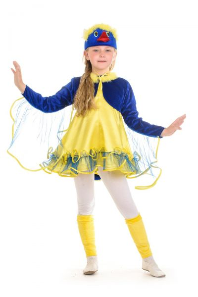 «Птичка-синичка» карнавальный костюм для девочки