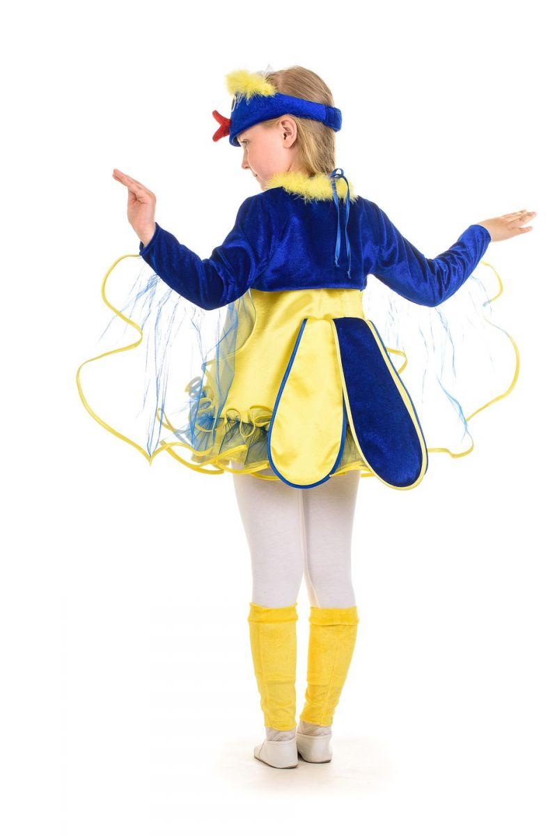 Масочка - «Птичка-синичка» карнавальный костюм для девочки / фото №1348