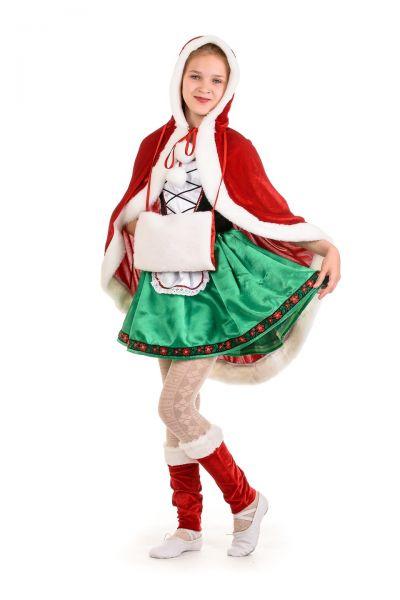 Герда «Новогодняя» карнавальный костюм для девочки