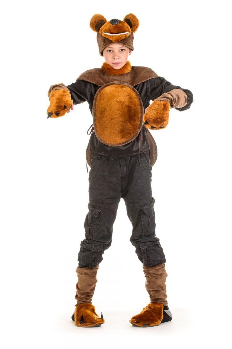Медведь «Потапыч» карнавальный костюм для мальчика
