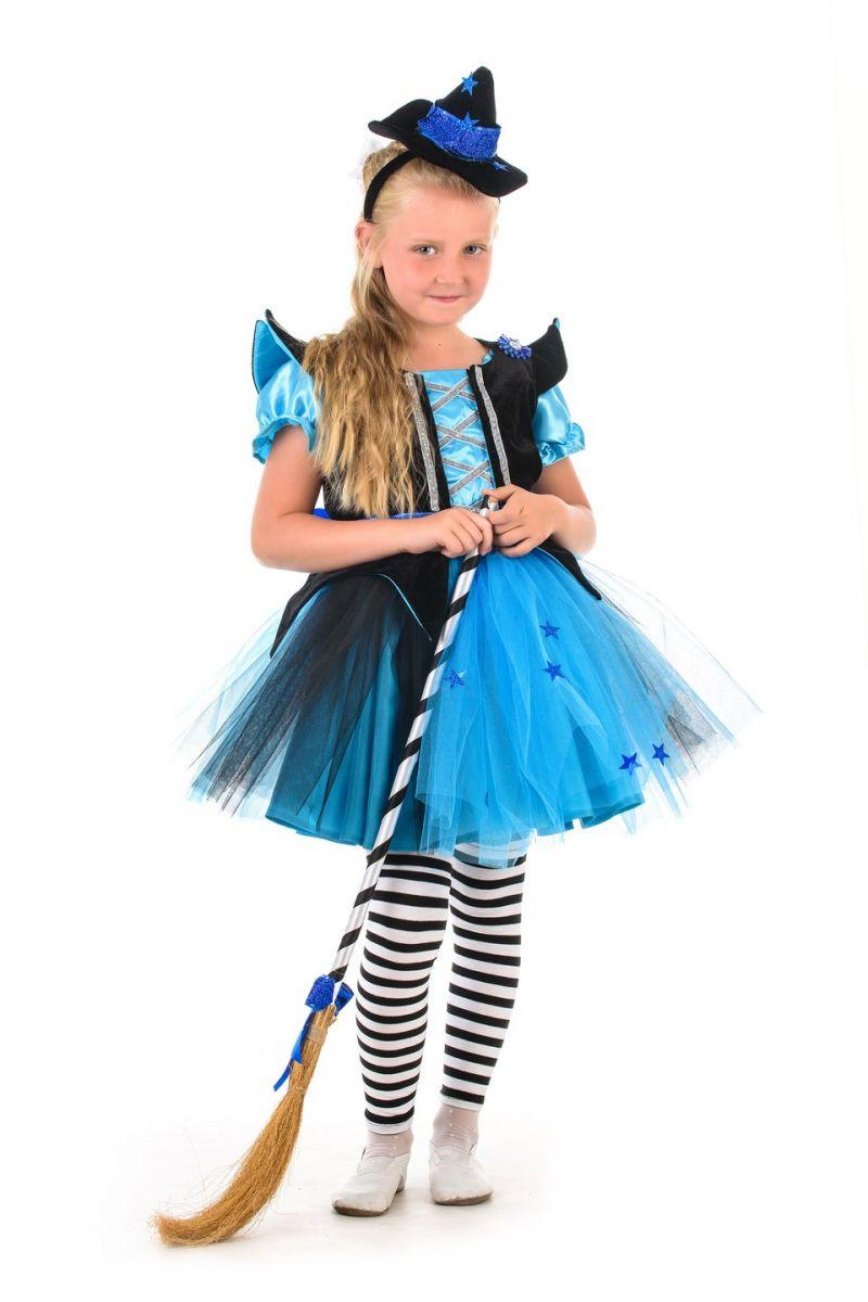 Ведьмочка «Красотка» карнавальный костюм для девочки