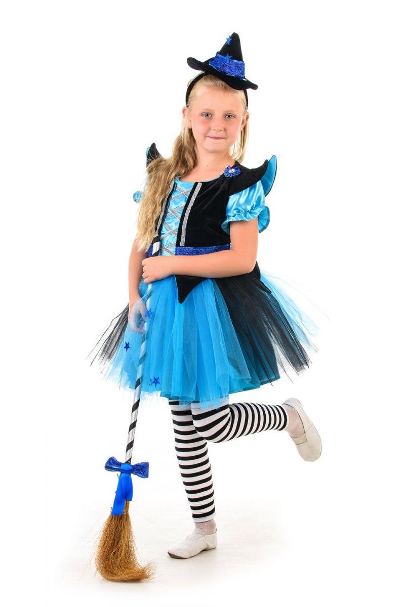 Масочка - Ведьмочка «Красотка» карнавальный костюм для девочки / фото №1358