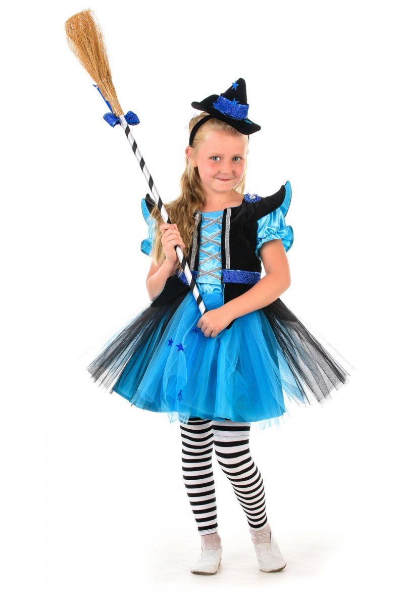 Масочка - Ведьмочка «Красотка» карнавальный костюм для девочки / фото №1359