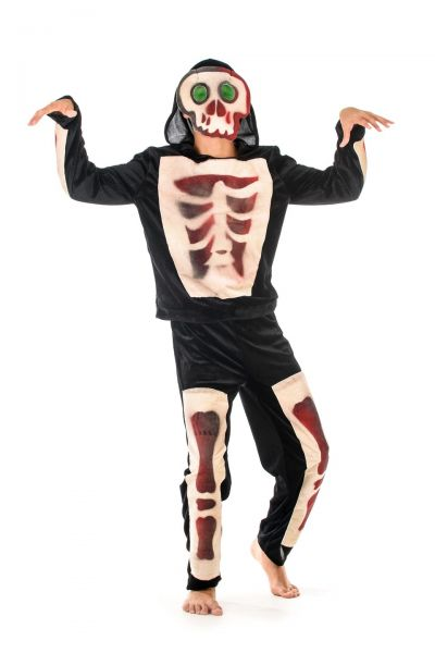 «Скелет» карнавальный костюм для мальчика