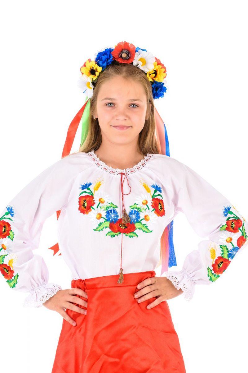 Масочка - Украинка «Даринка» национальный костюм для девочки / фото №1368