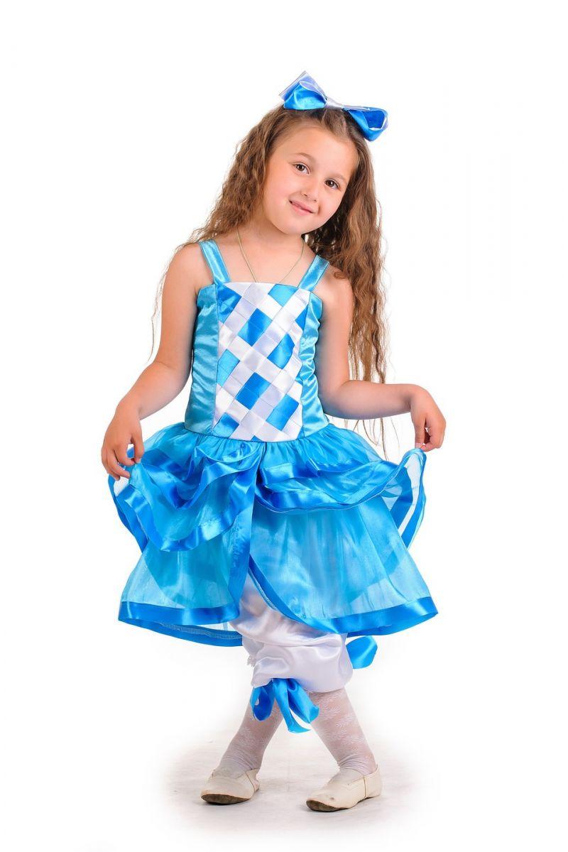 Масочка - «Мальвина голубая» карнавальный костюм для девочки / фото №137