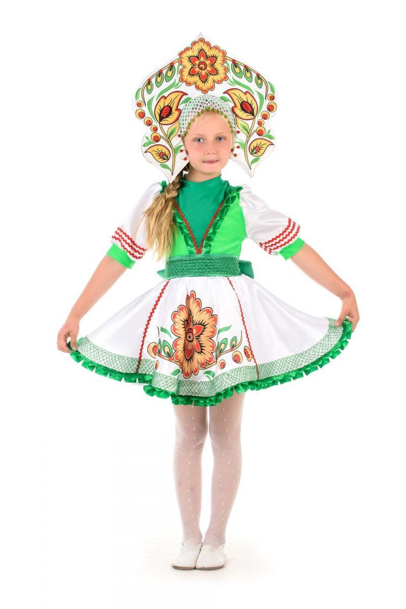 Русский народный костюм «Журавушка» девочка