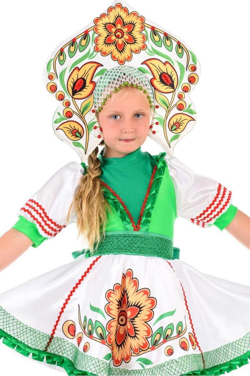 Масочка - Русский народный костюм «Журавушка» девочка / фото №1374