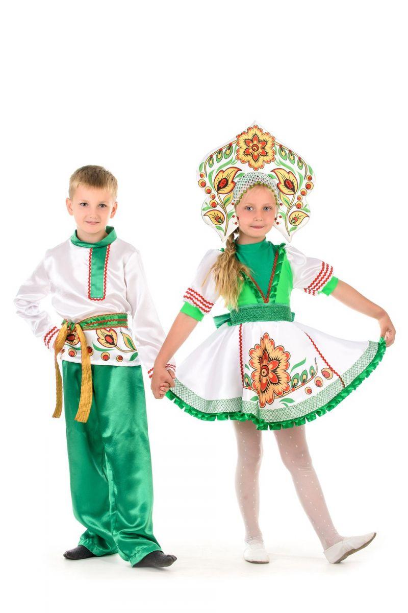 Масочка - Русский народный костюм «Журавушка» мальчик / фото №1377