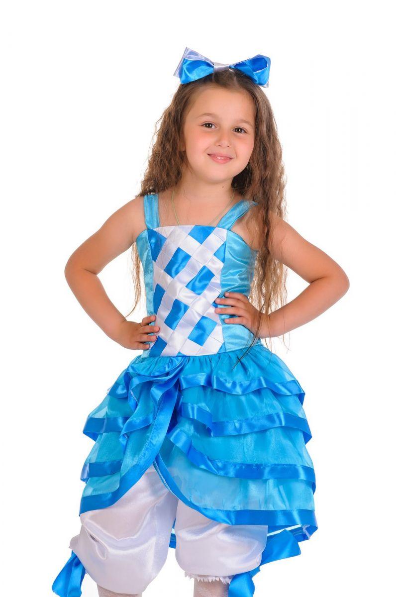 Масочка - «Мальвина голубая» карнавальный костюм для девочки / фото №138