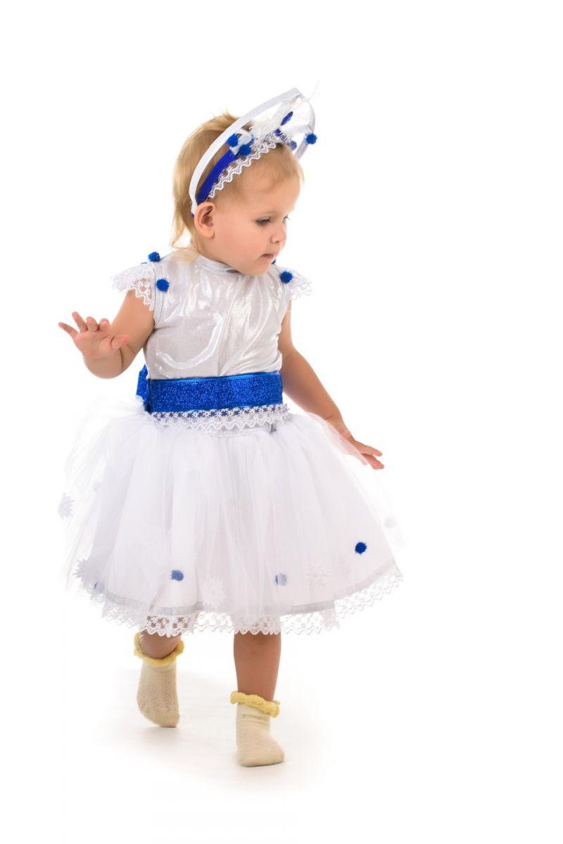 Масочка - Снежинка «Кроха» карнавальный костюм для малыша / фото №1391