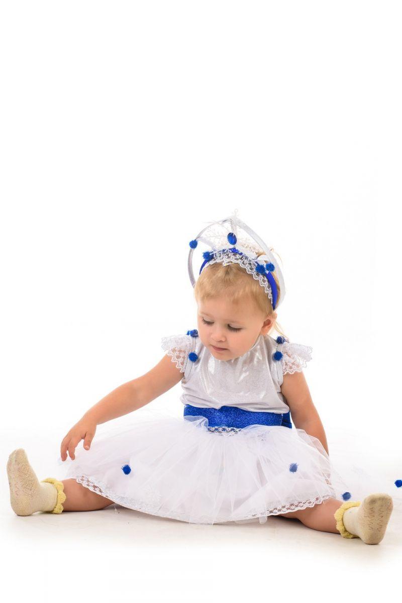 Масочка - Снежинка «Кроха» карнавальный костюм для малыша / фото №1392