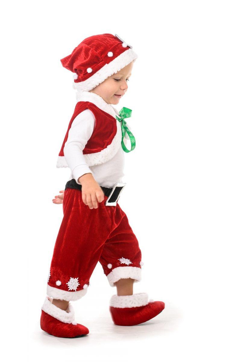 Масочка - Санта Клаус «Кроха» карнавальный костюм для малыша / фото №1395