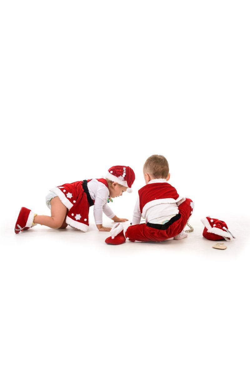 Масочка - Санта Клаус «Кроха» карнавальный костюм для малыша / фото №1397