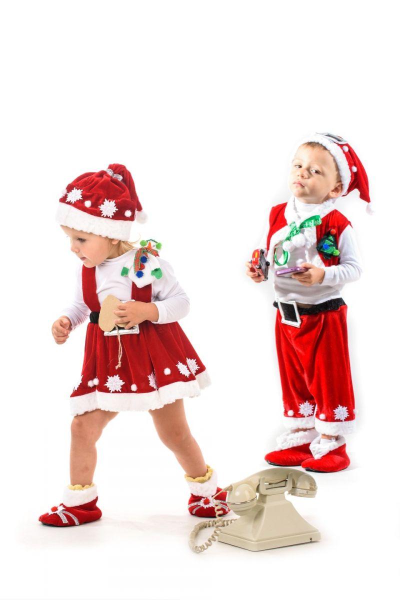 Масочка - Помощница Санта Клауса «Кроха» карнавальный костюм для малыша / фото №1402