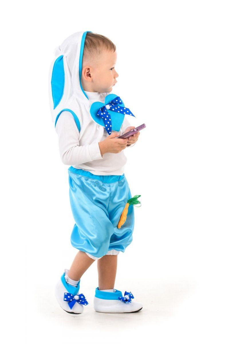 Масочка - Зайчик «Кроха» карнавальный костюм для малыша / фото №1406