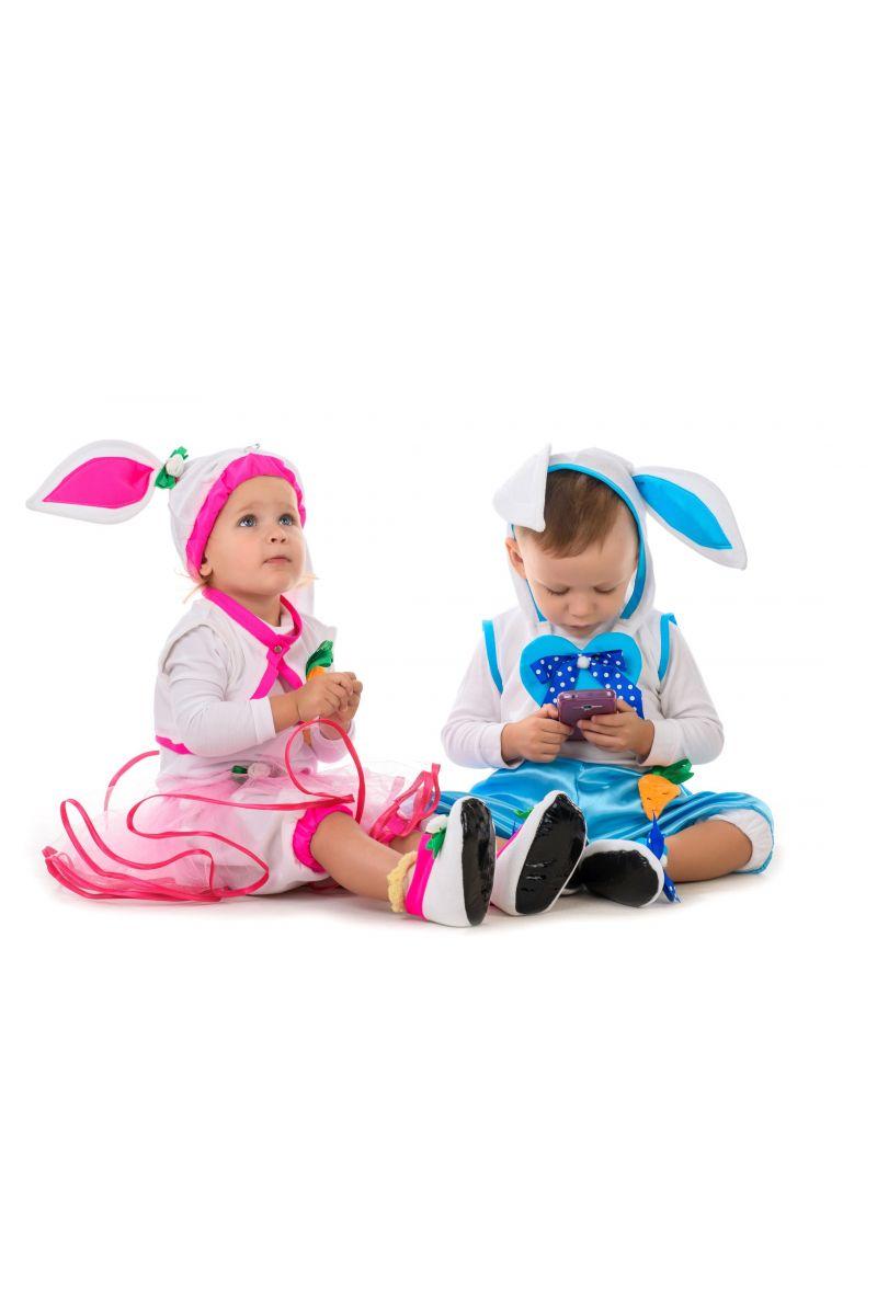 Масочка - Зайчик «Кроха» карнавальный костюм для малыша / фото №1407