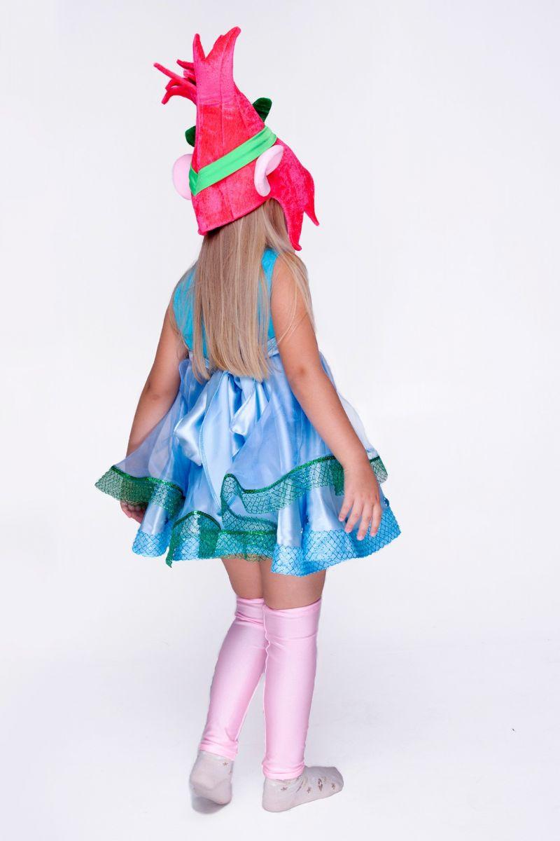 """Масочка - Розочка """"Тролли"""" карнавальный костюм для девочки / фото №1422"""