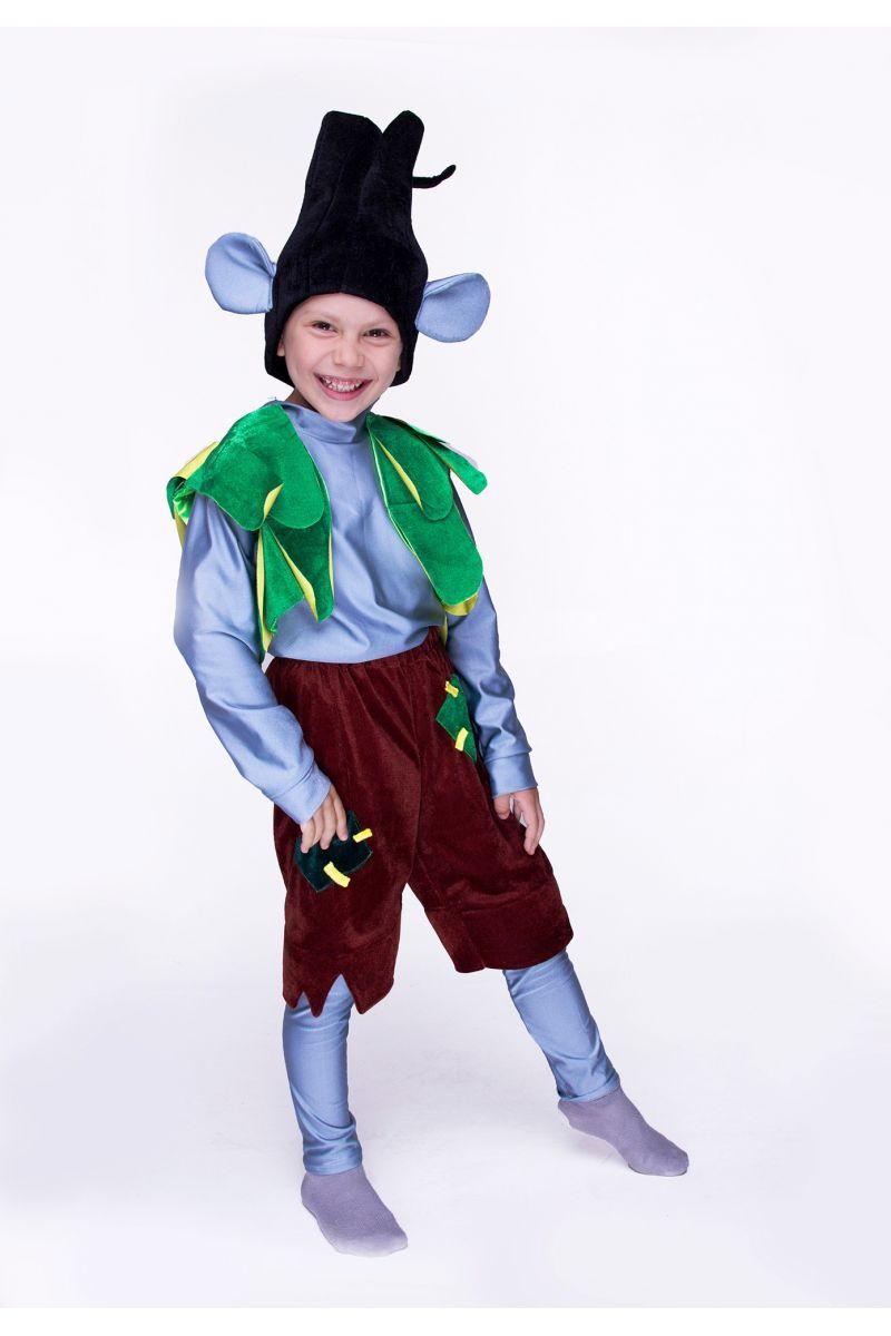 """Цветан """"Тролли"""" карнавальный костюм для мальчика"""