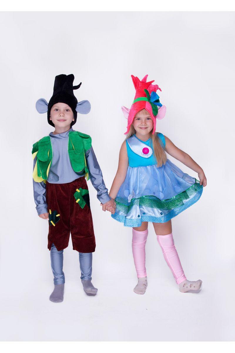 """Масочка - Цветан """"Тролли"""" карнавальный костюм для мальчика / фото №1429"""