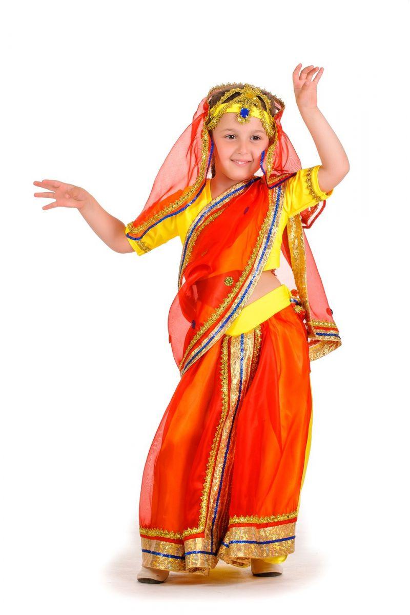 «Индианка в сари» национальный костюм для девочки
