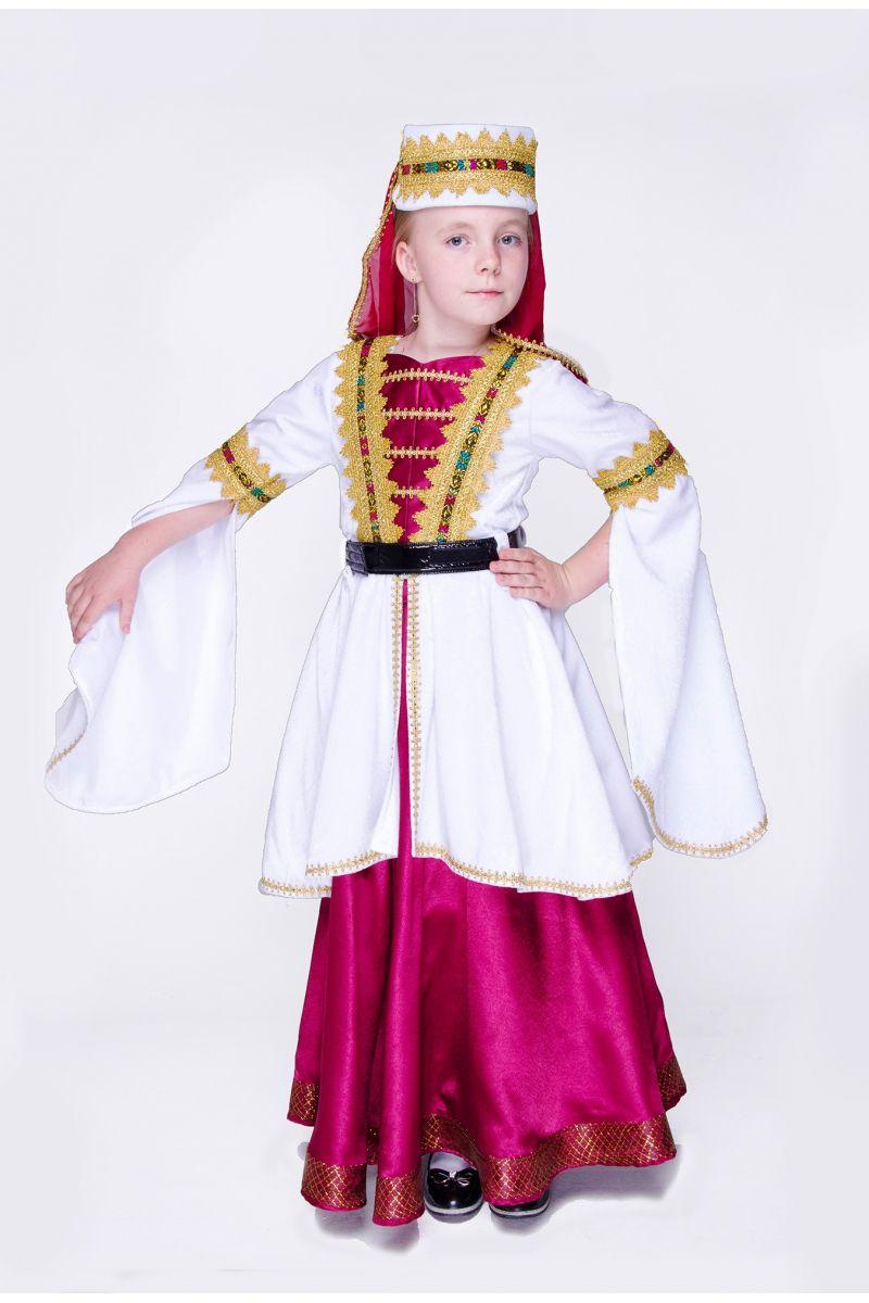 Масочка - Грузинка. Национальный костюм для девочки / фото №1431