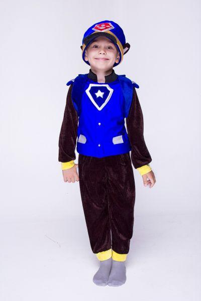 """Чейз с рюкзаком """"Щенячий патруль"""" карнавальный костюм для мальчика"""