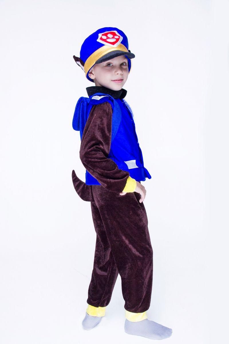 """Масочка - Чейз с рюкзаком """"Щенячий патруль"""" карнавальный костюм для мальчика / фото №1436"""