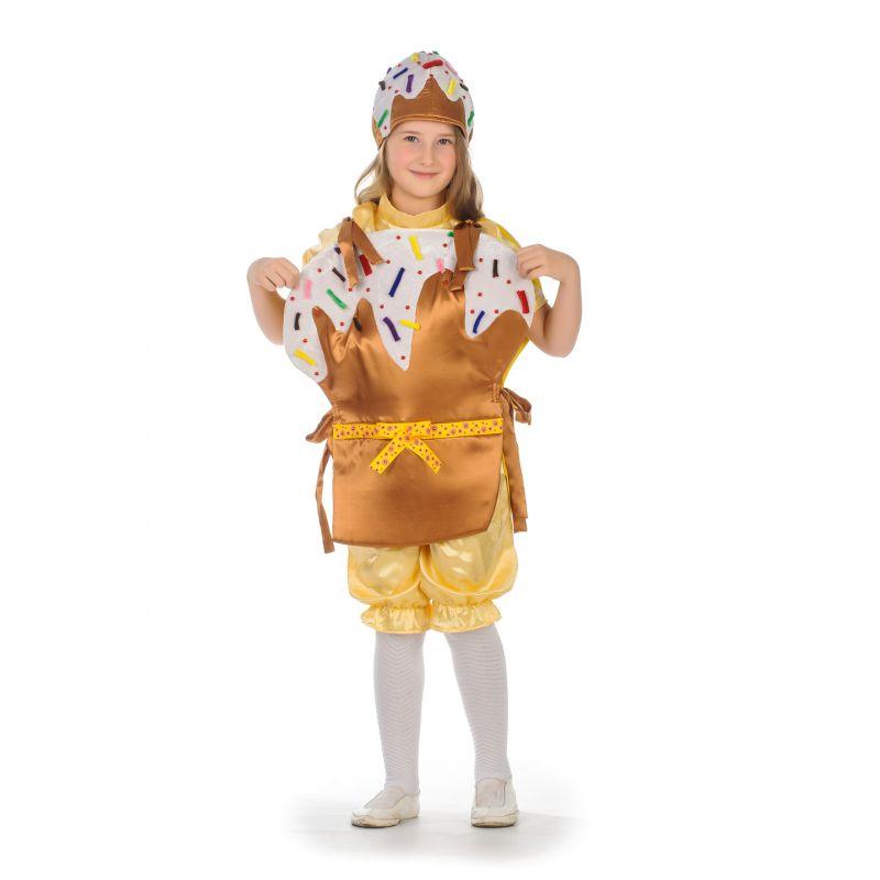 Куличик. Карнавальный костюм для детей